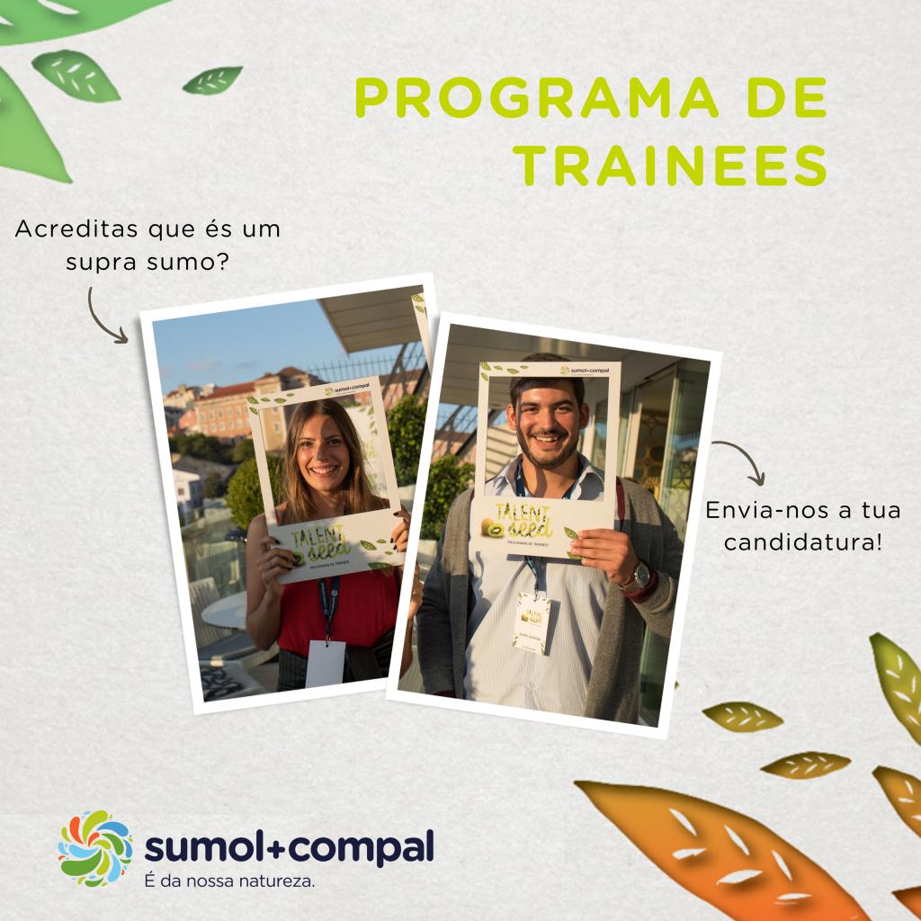 Programa de Trainees SUMOL+COMPAL